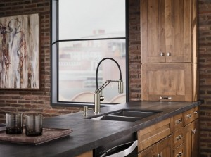 Contemporary Kitchen remodel with kitchen faucet