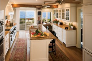 Waterfront Custom Kitchen after remodel