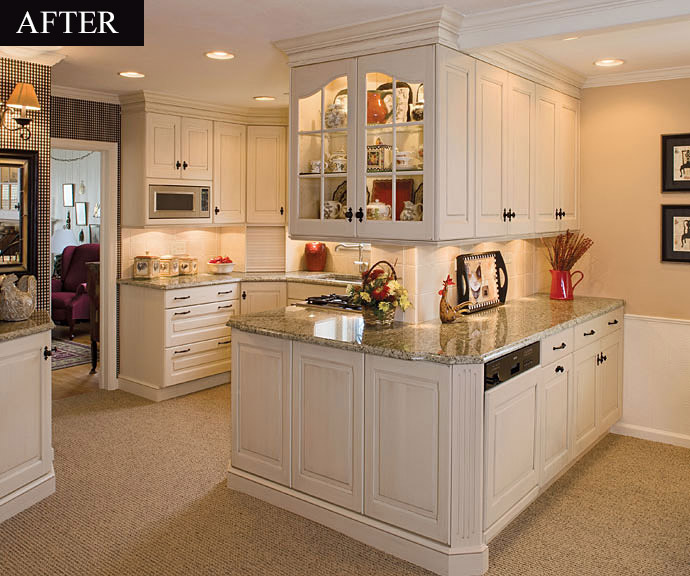 Remodeled Kitchen Pictures Baltimore, Columbia, Ellicott